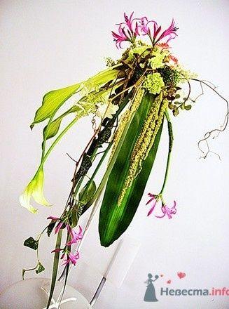 Букет авангардный - фото 728 Флорист-дизайнер Екатерина
