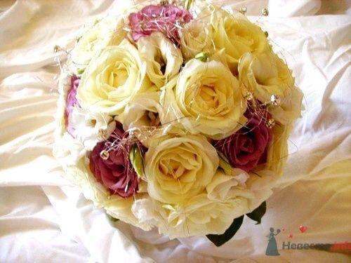 Букет круглый из роз - фото 731 Флорист-дизайнер Екатерина