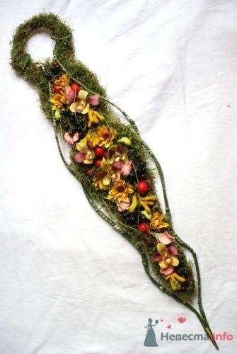 Букет-украшение в руку - фото 14817 Флорист-дизайнер Екатерина