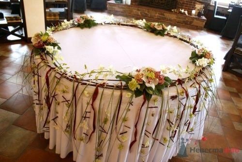 Оформление фуршетного стола - фото 14859 Флорист-дизайнер Екатерина