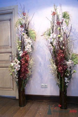 Напольная композиция - фото 14863 Флорист-дизайнер Екатерина