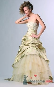 Свадебное платье Domo Adami от ПЛЮМАЖ - фото 1161 Плюмаж - бутик выходного платья и костюма