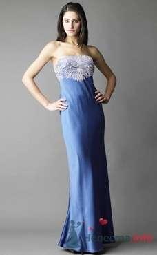 Коктейльное платье Ugo Zaldi от ПЛЮМАЖ - фото 1204 Плюмаж - бутик выходного платья и костюма