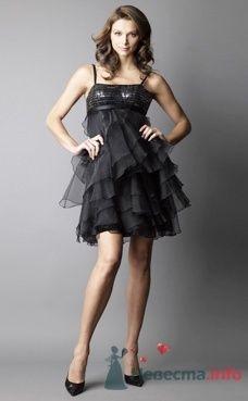 Коктейльное платье Ugo Zaldi от ПЛЮМАЖ - фото 1215 Плюмаж - бутик выходного платья и костюма