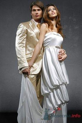 Свадебное платье David Fielden - фото 30454 Плюмаж - бутик выходного платья и костюма