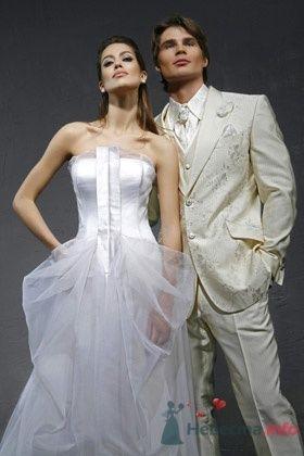 Свадебное платье David Fielden - фото 30466 Плюмаж - бутик выходного платья и костюма