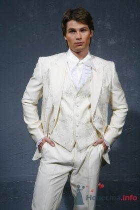 Мужской выходной костюм Ottavio Nuccio - фото 30505 Плюмаж - бутик выходного платья и костюма