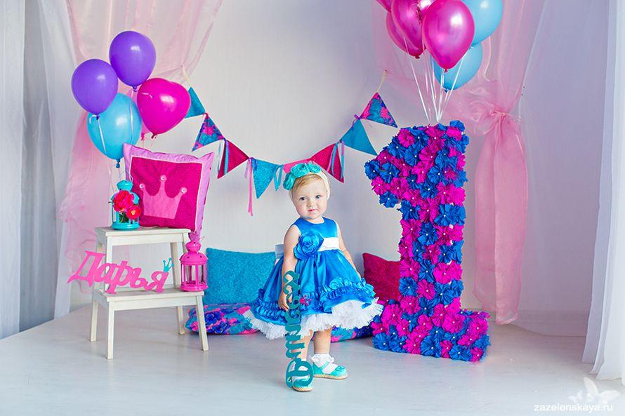 Оформление дня рождения ребенка 1 год своими руками фото