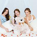 девичник, фотостудия Шоколад, невеста, свадебный фотограф, пижамная вечеринка