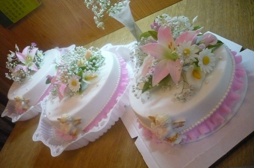 Оригинальные свадебные торты фото на 4 кг