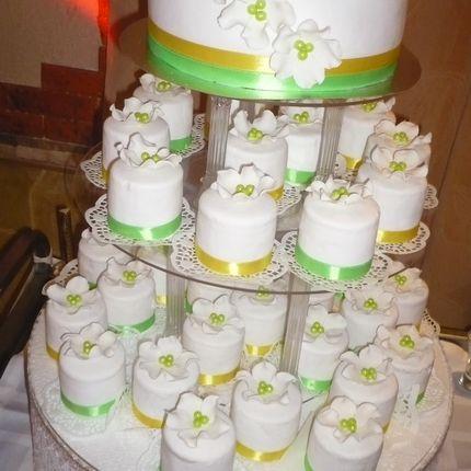Торт с мини тортами
