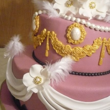 Торт двухъярусный