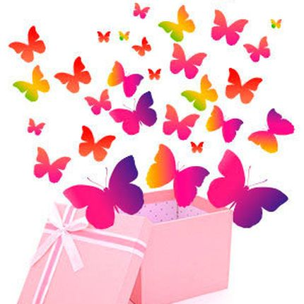 Мега-салют из 31 живой бабочки