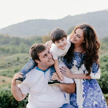 Семейная фотосъёмка 1,5 часа