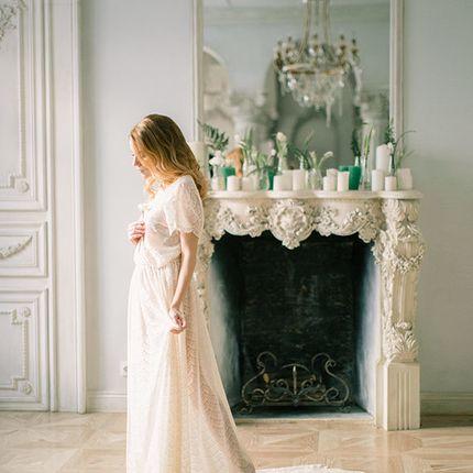 Будуарное платье Валери
