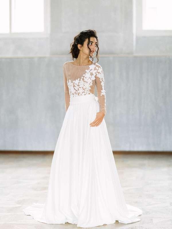 Свадебное платье Классика - фото 16541276 Будуарный салон Boudoir-Wedding