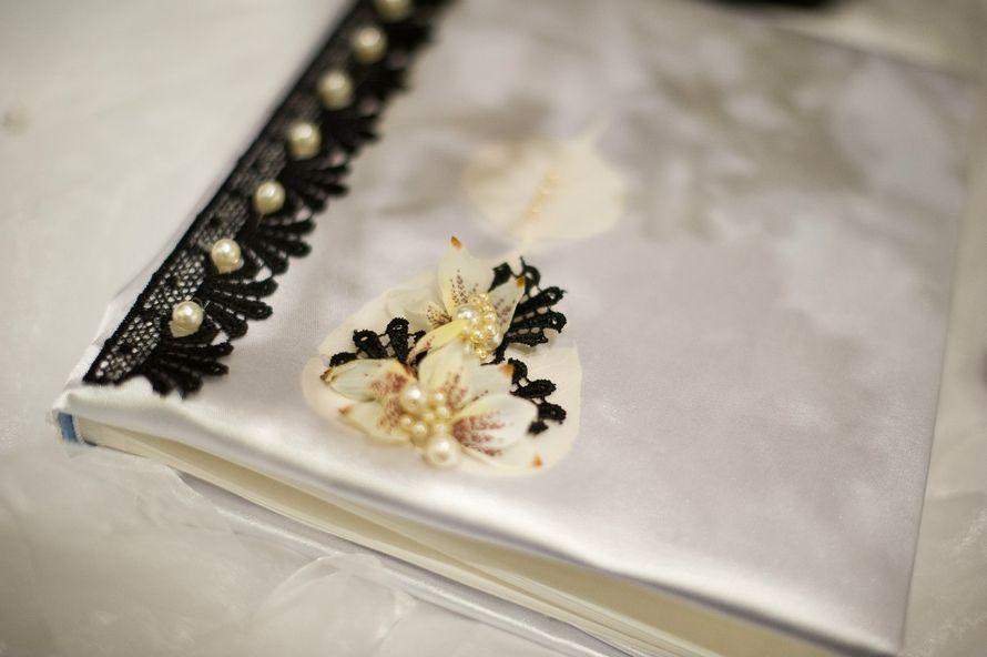 альбом для пожеланий: текстиль, бижутерия, аксессуары. - фото 10105700 Флористика и декор FloriJi