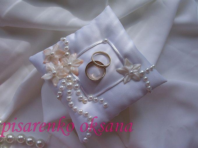 Свадебная подушечка для колец с углублением своими руками 31