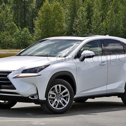 Аренда авто Lexus NX белого цвета, цена за 1 час