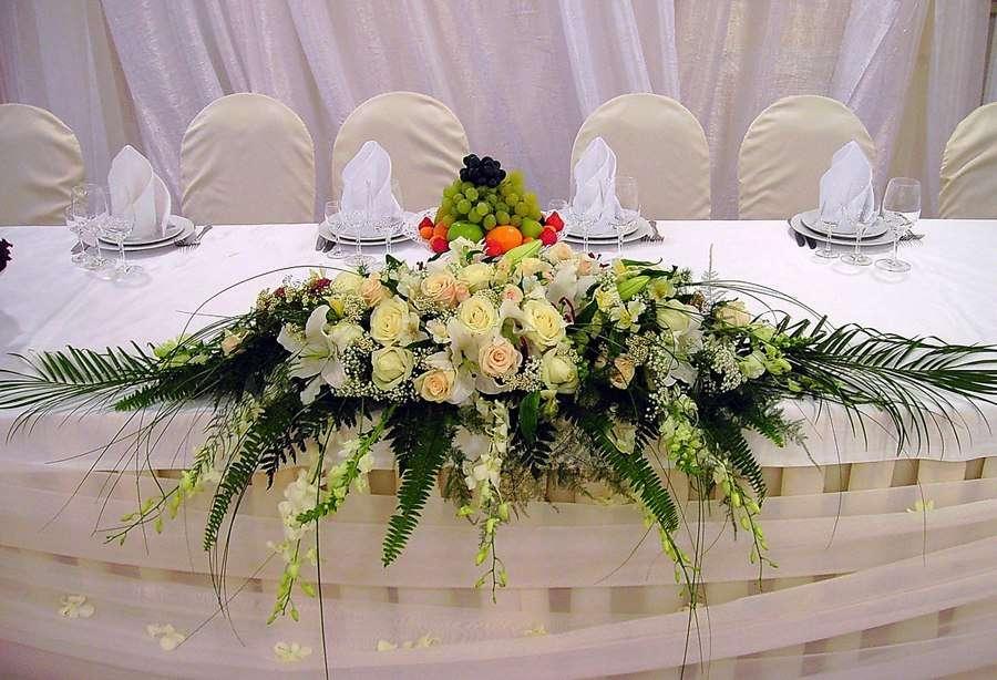 Букет для украшения свадебного стола фото, букет каталог киев