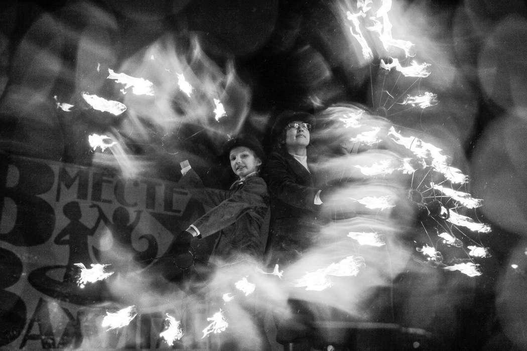 Фото 6060199 в коллекции Огненное (фаер) шоу - Творческий коллектив Огни большого города