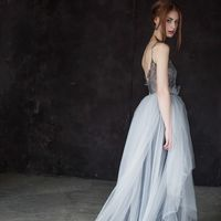 """Свадебное платье """"Черника"""""""