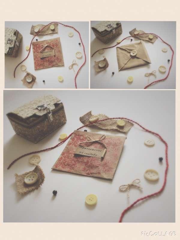 Фото 6123429 в коллекции Пригласительные - Пригласительные ручной работы Cardmaking_simf