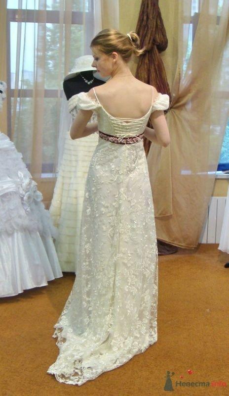 Платье №3, вид сзади - фото 26563 malysh_eva