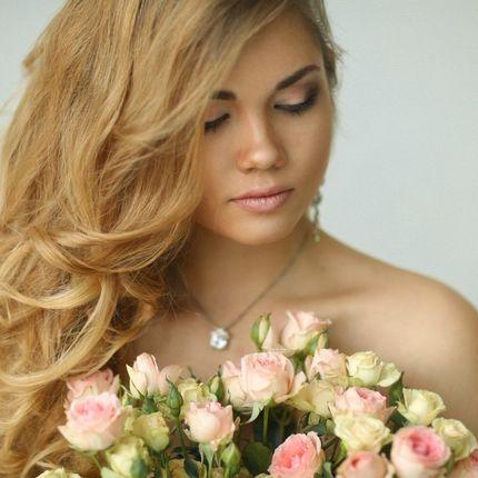Локоны для невесты