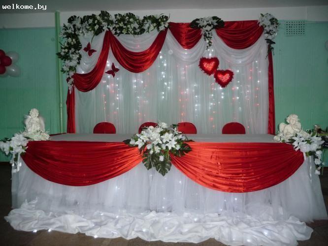 Украшения на свадебный зал своими руками