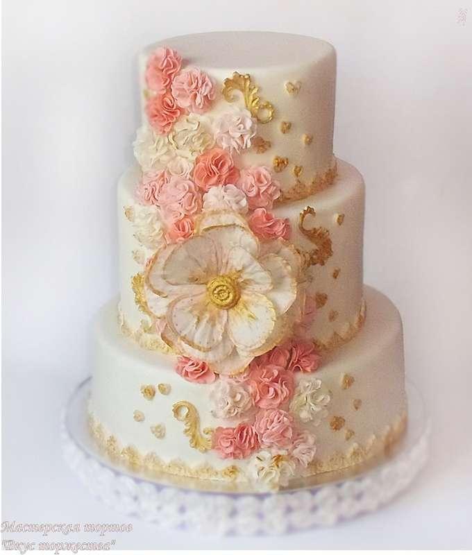 """Фото 6283727 в коллекции Свадебные торты - Мастерская тортов """"Вкус торжества"""""""