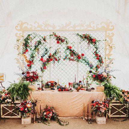 Стилистическое свадебное оформление