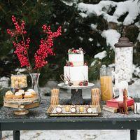 декор для зимней свадьбы
