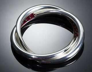 Серебро, синтетические рубиновые шарики - фото 6456232 Национальный ювелирный дом