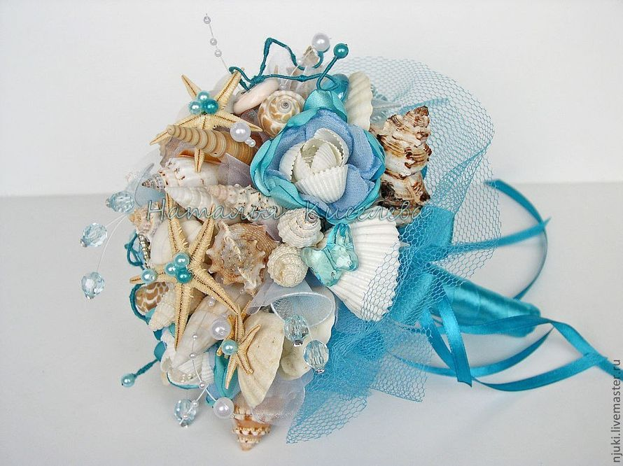 Морские букеты для невесты фото 2015