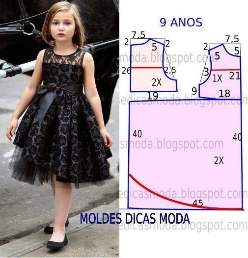 Модели платьев для девочек своими руками