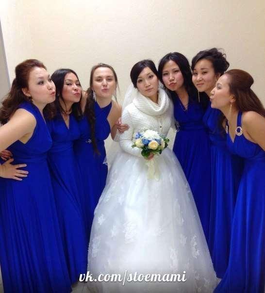 Фото 6447568 в коллекции Платья-трансформеры для подружек невесты - Платья-трансформеры для подружек невесты STOEMAMI