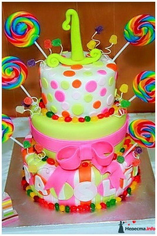Торты для девочек фото с днем рождения