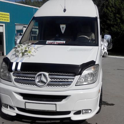 Аренда авто VIP Mercedes-Benz Sprinter, 1 час