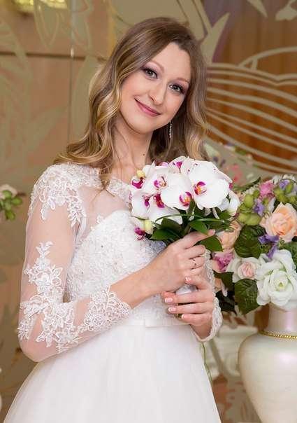 Букет невесты , орхидея , белый . - фото 10007690 Флорист Светлана Плотникова