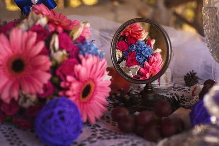 Фото 7757390 в коллекции Синяя свадьба с розовым акцентом - Студия декора и флористики  - Malina group