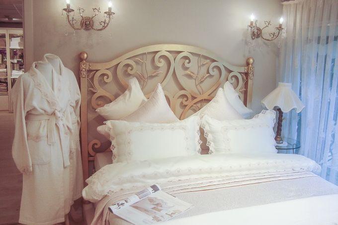 Свадебный комплект постельного белья, коллекция ACELYA