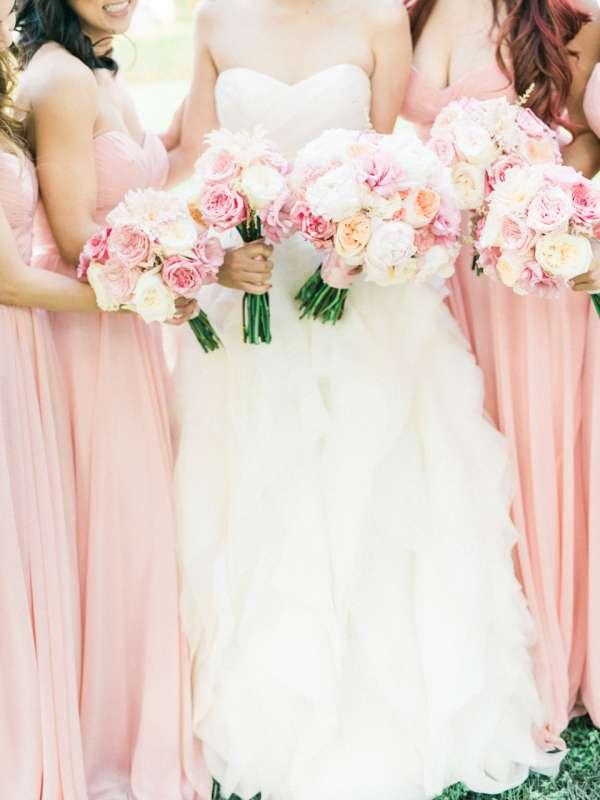 Платья подружек невесты в цвете Розовый Кварц - фото 8058994 Maltina Maria - свадебная и праздничная полиграфия