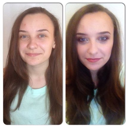Свадебный пробный макияж