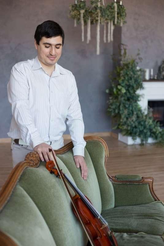 Скрипач на свадьбу Краснодар - фото 17267964 Скрипач Иван Овсепян