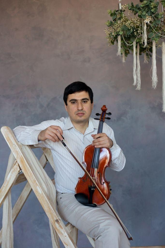 Скрипач на свадьбу Краснодар - фото 17267982 Скрипач Иван Овсепян
