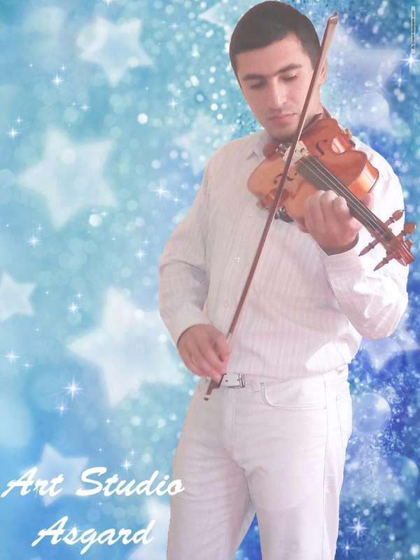 Скрипач на свадьбу Краснодар - фото 17268014 Скрипач Иван Овсепян