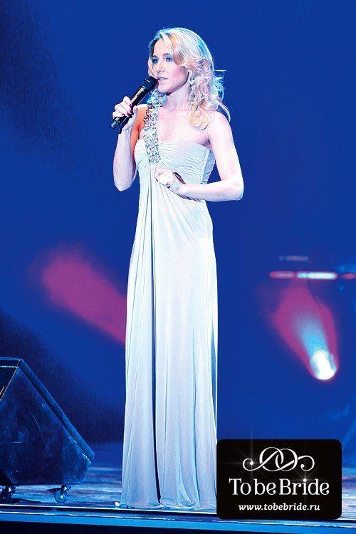 Певица Юлия Ковальчук в вечернем платье СW015В - фото 6799778 Свадебный салон Кукла