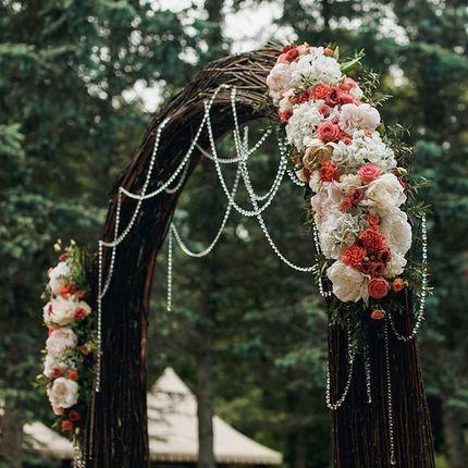 "Свадебная арка ""Лесная сказка"""