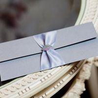 искрящееся зимнее свадебное приглашение